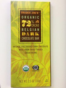 Trader Joe's 72% Dark Chocolate