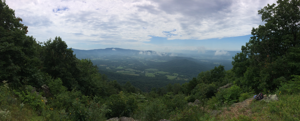 from Dickey ridge hill panorama