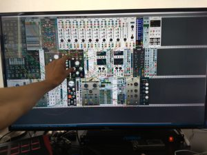 TCL 43S405 and VCV Rack