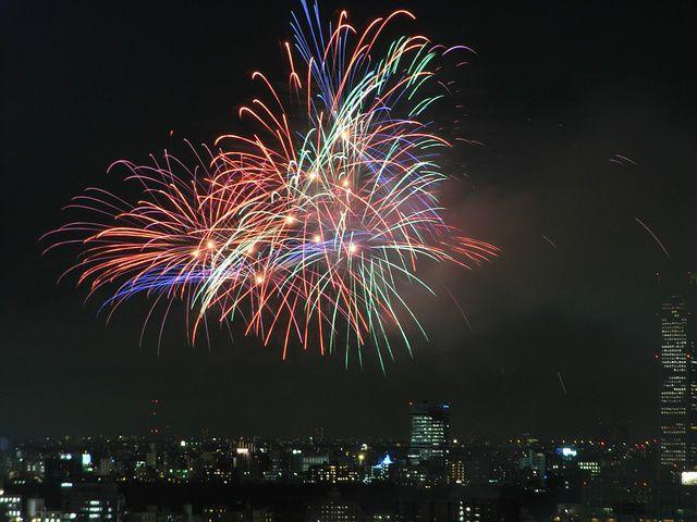 明治神宮の花火大会2009