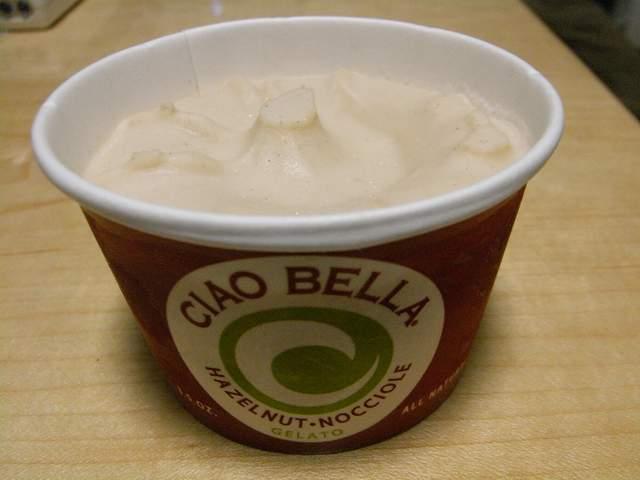 CIAO BELLA のヘーゼルナッツ味