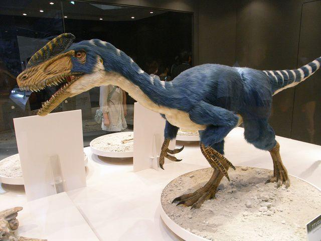 古いティラノンサウルス グアンロン