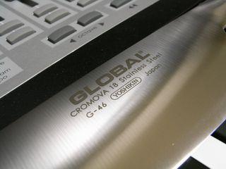 Global G-46 三徳包丁 その2