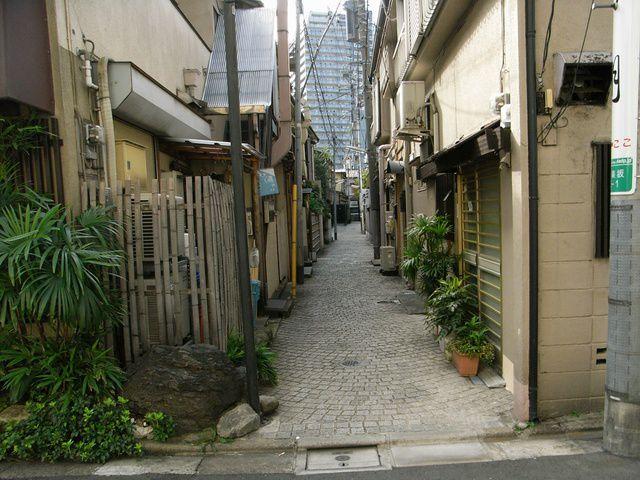 神楽坂の路地