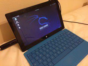 Kali Linux + Surface I Pro