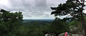 Sugar loaf mountain: Summit