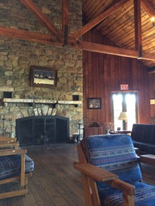 Big Meadows Lodge: Lobby