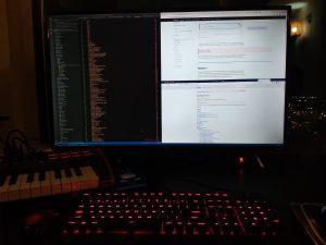TCL 43S405 Visual Stuiod Code, Chrome and FireFox